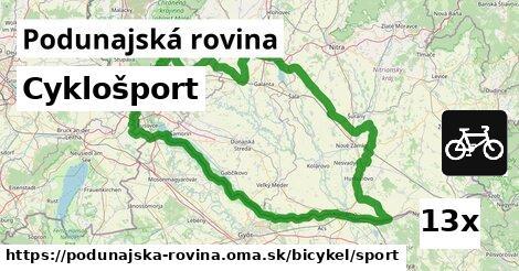 ilustračný obrázok k Cyklošport, Podunajská rovina