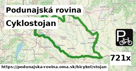 ilustračný obrázok k Cyklostojan, Podunajská rovina