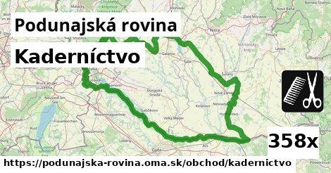 ilustračný obrázok k Kaderníctvo, Podunajská rovina
