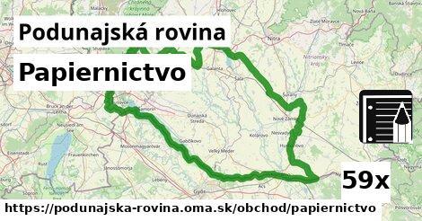 ilustračný obrázok k Papiernictvo, Podunajská rovina