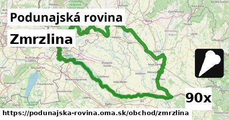 ilustračný obrázok k Zmrzlina, Podunajská rovina