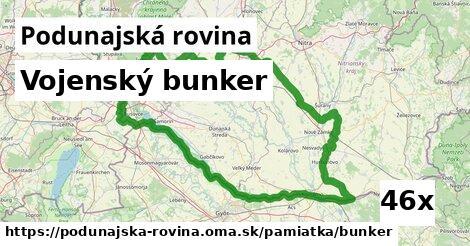 ilustračný obrázok k Vojenský bunker, Podunajská rovina