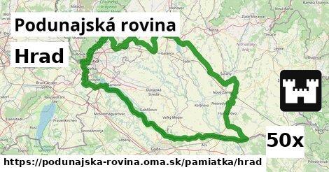 ilustračný obrázok k Hrad, Podunajská rovina