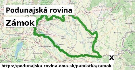 ilustračný obrázok k Zámok, Podunajská rovina
