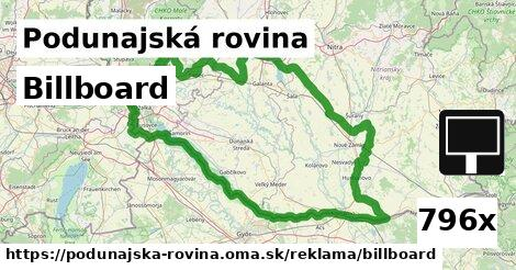 ilustračný obrázok k Billboard, Podunajská rovina