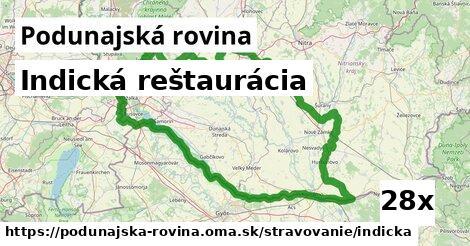 ilustračný obrázok k Indická reštaurácia, Podunajská rovina