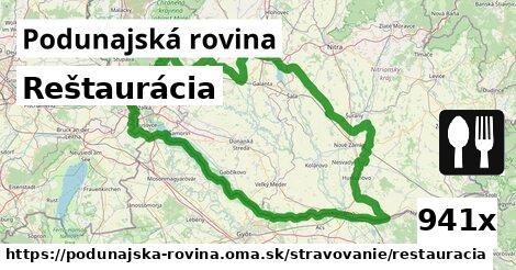 ilustračný obrázok k Reštaurácia, Podunajská rovina