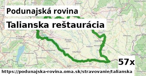 ilustračný obrázok k Talianska reštaurácia, Podunajská rovina