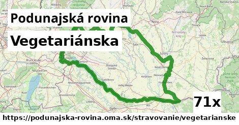 ilustračný obrázok k Vegetariánska, Podunajská rovina