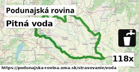 ilustračný obrázok k Pitná voda, Podunajská rovina
