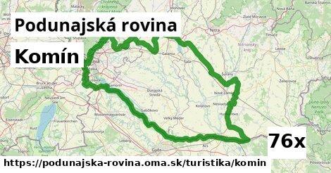 ilustračný obrázok k Komín, Podunajská rovina