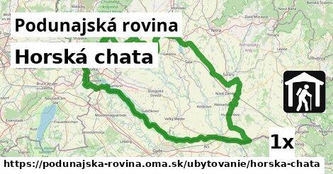 ilustračný obrázok k Horská chata, Podunajská rovina