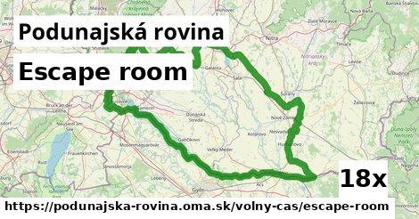 ilustračný obrázok k Escape room, Podunajská rovina