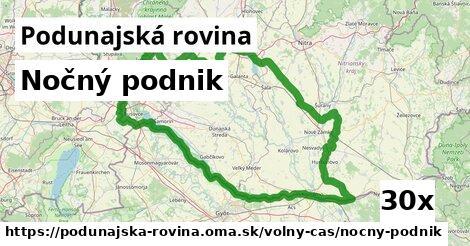 ilustračný obrázok k Nočný podnik, Podunajská rovina