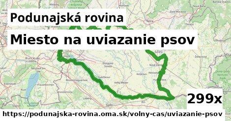 ilustračný obrázok k Miesto na uviazanie psov, Podunajská rovina
