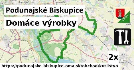 domáce výrobky v Podunajské Biskupice