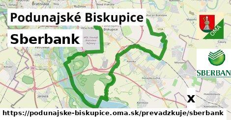 Sberbank v Podunajské Biskupice