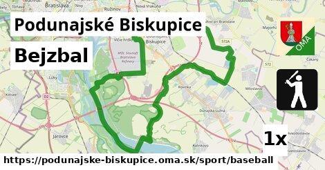 bejzbal v Podunajské Biskupice
