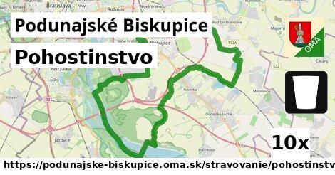 pohostinstvo v Podunajské Biskupice