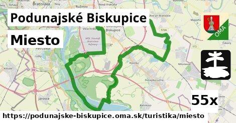 miesto v Podunajské Biskupice