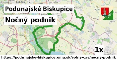 nočný podnik v Podunajské Biskupice