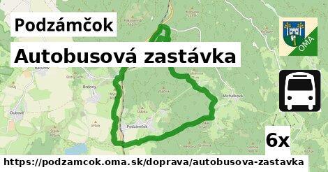 ilustračný obrázok k Autobusová zastávka, Podzámčok