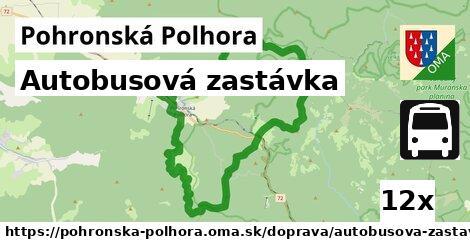 ilustračný obrázok k Autobusová zastávka, Pohronská Polhora