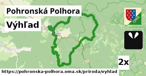 výhľad v Pohronská Polhora