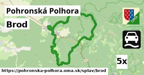 brod v Pohronská Polhora