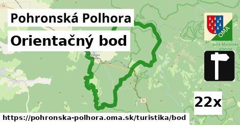 orientačný bod v Pohronská Polhora