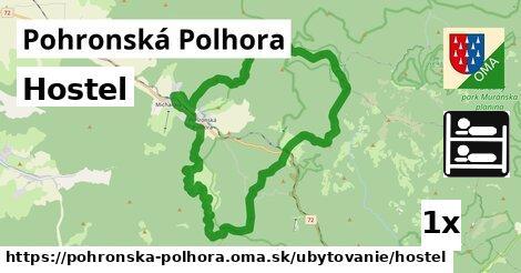hostel v Pohronská Polhora