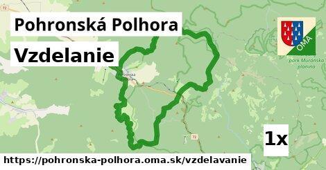 vzdelanie v Pohronská Polhora