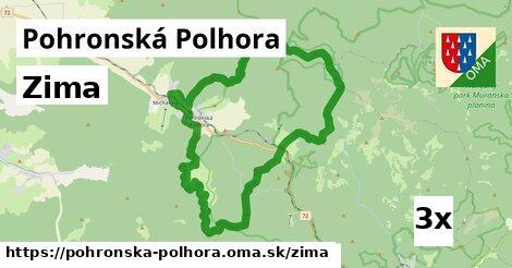 zima v Pohronská Polhora