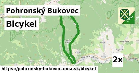 bicykel v Pohronský Bukovec