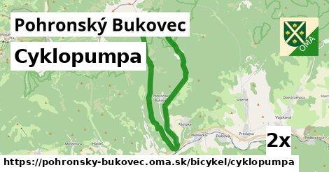 cyklopumpa v Pohronský Bukovec