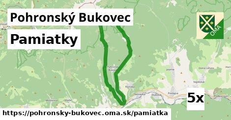 pamiatky v Pohronský Bukovec