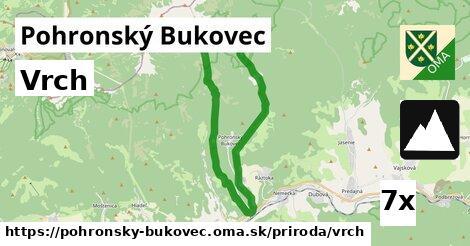vrch v Pohronský Bukovec