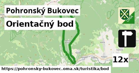 orientačný bod v Pohronský Bukovec