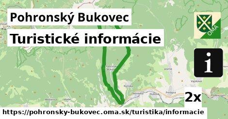 turistické informácie v Pohronský Bukovec