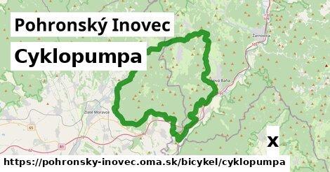 ilustračný obrázok k Cyklopumpa, Pohronský Inovec