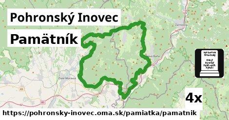 ilustračný obrázok k Pamätník, Pohronský Inovec