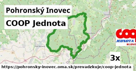 ilustračný obrázok k COOP Jednota, Pohronský Inovec