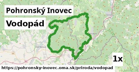 ilustračný obrázok k Vodopád, Pohronský Inovec
