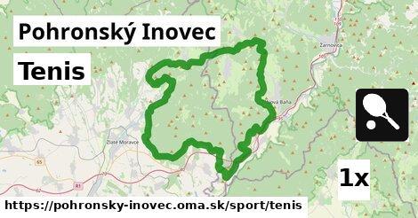 ilustračný obrázok k Tenis, Pohronský Inovec