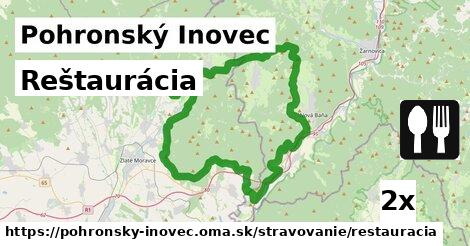ilustračný obrázok k Reštaurácia, Pohronský Inovec