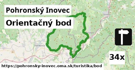 ilustračný obrázok k Orientačný bod, Pohronský Inovec