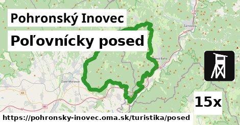 ilustračný obrázok k Poľovnícky posed, Pohronský Inovec