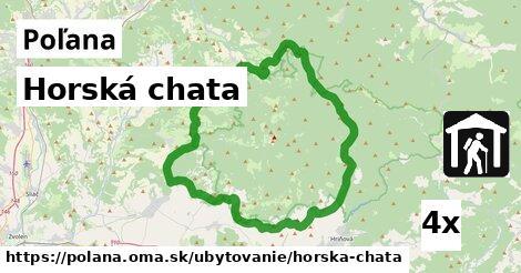 ilustračný obrázok k Horská chata, Poľana