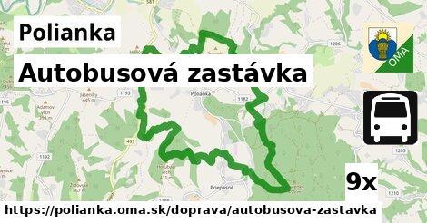 ilustračný obrázok k Autobusová zastávka, Polianka