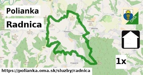 ilustračný obrázok k Radnica, Polianka